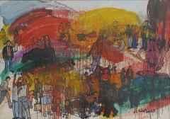 'Çok Boyutlu Yaşam Kesiti', 70x100 cm, KÜYB, 2002-03