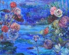 'Mavi Cennet'<br />80x100 cm, 2013