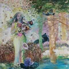 'Melek / Angel'<br />150x150 cm, TÜYB, 2015
