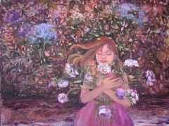 Masumiyet İçin Düşler I-Dreams for Innocence I, 90x120 cm