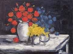 61x81 cm - TÜYB - Vazodaki Çiçekler