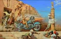 140x220 cm - TÜYB - 2001 - Faraon's Revenge
