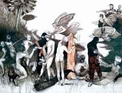 Ercan Ayçiçek<br />'Parisin Yargısı', 89x116 cm, TÜAB, 2015