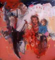 130x120 cm - TÜYB - 2011 - Müziksiyen Aile