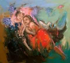 'Koşulsuz Sevgi'<br />90x100 cm, TÜYB, 2015