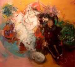 'Persephone',40x40 cm, TÜYB