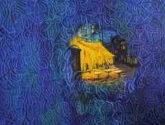 Ahmet Yeşil - 120x150 cm - TÜYB - 2014 - Van Gogh ve Ben