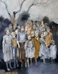'Rüya', 150x120 cm, Tuvale Yağlıboya