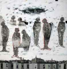 200x200 cm - TÜKT - 2010 - Hades Serisi