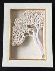 Dilek Ağacı-II, 16x16x4,5 cm, Döküm ve Elle Şekillendirme, 1100°C, 2017