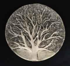 Sonbahar, 38 x 4 cm, Vakumlu Kil, Elle Şekillendirme, 1000 °C, 2015