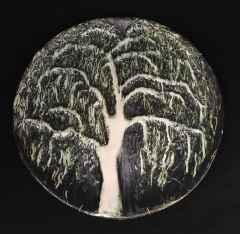 Söğüt, 38 x 4 cm, Vakumlu Kil, Elle Şekillendirme, 1000 °C, 2015