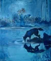 Nil Köken - 'Ruhun İşaretleri', 60x50 cm, TÜYB, 2018