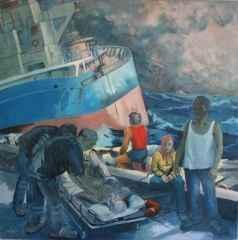 'Deniz Kazası-I'<br />160x160, TÜYB, 2014
