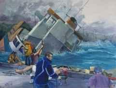 'Deniz Kazası-II'<br />114x150, TÜYB, 2014
