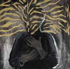 Aslı Işıksal – 'Dilsiz Dünya Serisinden', 25x25 cm, TÜYB, 2015