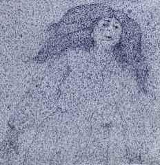 Havva Altun Demircan – 'Hiçbir şey bana olan aşkın kadar az ilgimi çekmiyor', 25x25 cm, TÜAB, 2015