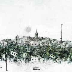Mustafa Mutlu – 'Alternatif Senfoni', 25x25 cm, TÜAB, 2015