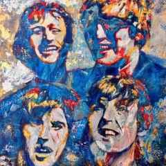 Hakan Sarıhan - 'My Beatles', 25x25 cm, TÜYB, 2016