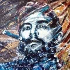 Hakan Sarıhan - 'My Che', 25x25 cm, TÜYB, 2016