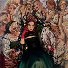 Hatice Berrak Çiçe - 'Sahip', 25x25 cm, TÜYB, 2016