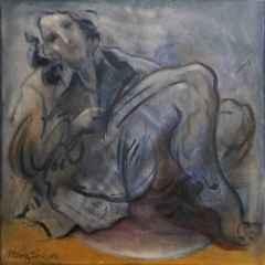 Mahmut Öztürk - 'Rahatlık', 25x25 cm, TÜYB, 2016