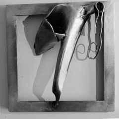 Sanem Tufan - 25x25 cm, Metal, 2016