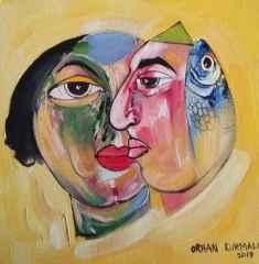 Orhan Kurmalı - 25x25 cm, TÜYB, 2017