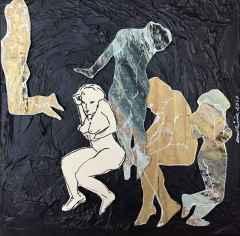 Emel Ülüş - 'Relations', 25x25 cm, TÜKT, 2017