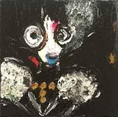 Yeşim Dereli - 'Noche', 25x25 cm, TÜKT, 2017