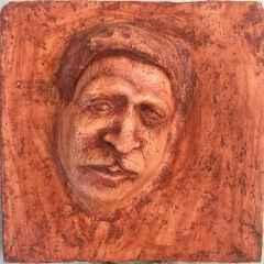 Berkay Bayram - 25x25 cm, Seramik 2017