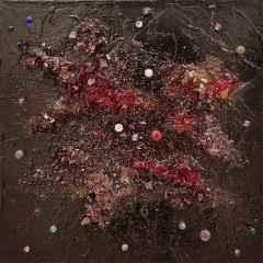 Filiz Uzuner - Cosmos - 25x25 cm, TÜKT, 2018