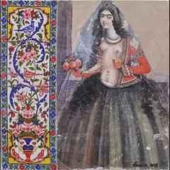 Parvin Ghorbanzadeh Dizaji - 25x25 cm, TÜKT, 2018
