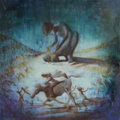 'Bir Kıvılcımla Başlar', 40x40 cm, TÜYB, 2016