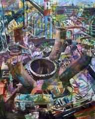 125x100 cm - TÜAB - 2003 - Manzara
