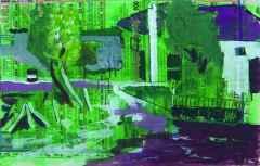30x21 cm - KÜAB - 2004 - Köy manzarası-I