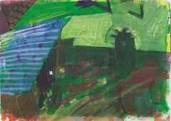 30x21 - KÜAB - 2004 - Köy manzarası-III