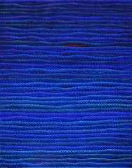 'Mavi Üzerine Notlar', 95x75 cm, TÜYB, 2015