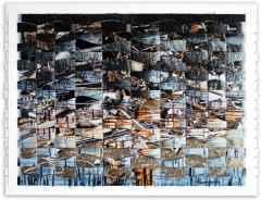 133x172 cm - Karışık Teknik - 2009 - Derinlik sarhoşluğu