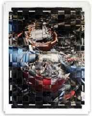 172x133 cm - Karışık Teknik - 2008 - güç ve onur