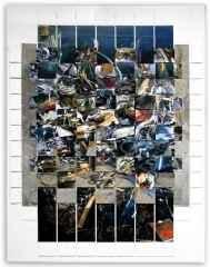 172x133 cm - Karışık Teknik - 2009 - yansıma