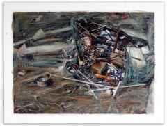 128x164 cm - TÜAB - 2008 - derin çolde susuzluk