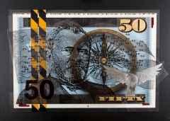 compass, 90x120 cm, Mixmedia