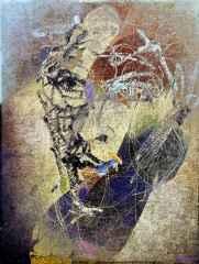 Necmettin Özlü - 'Portre-I / Portrait-I', 120x90 cm, Hahnemühle Monet TÜKT, 2016