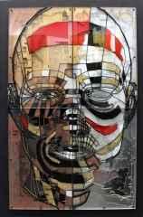 Emre Lüle - 'Romeo', 93x63 cm, Polyplastic, 2016
