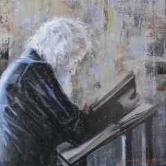 Fatih Karakaş - 'Kitap / Book', 25x25 cm, Tüyb, 2016