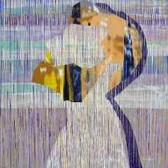 Ümit Türk - İsimsiz/Untitled, 70x70 cm, Tuvale akrilik boya/Arcylic on canvas, 2017