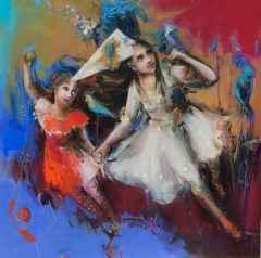 Peruze Hamurcu - İsimsiz/Untitled, 70x70 cm, Tuvale yağlı boya/Oil on canvas, 2017