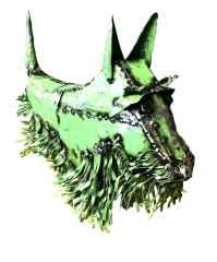 ' Köpek ', 75x45x35 cm, Hurda Metal, Kaynak
