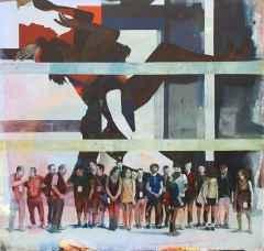 Levent Oyluçtarhan - 160x170 cm - TÜYB - 2012